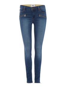 Jill zip ultra skinny jean in vincente