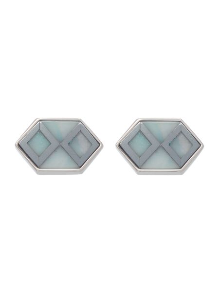 Simon Carter Deco hexagon cufflink