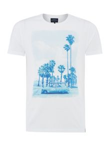 Criminal Palm Trees Graphic Tshirt