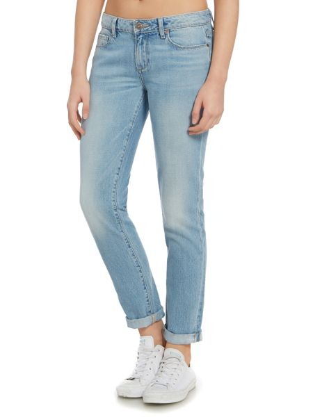 Paige Skyline skinny ankle peg jean in quill