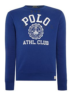 Men's Polo Ralph Lauren Long-Sleeve Crew-Neck Sweatshirt
