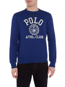 Long-Sleeve Crew-Neck Sweatshirt