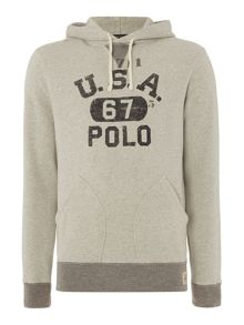 Polo Ralph Lauren Long-Sleeve Printed Hoody