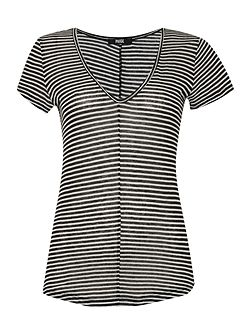Short sleeve hadley stripe tee