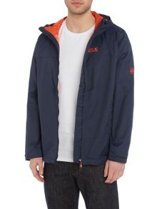 Jack Wolfskin Arroyo zip through hooded jacket