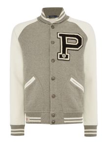 Polo Ralph Lauren Campus fleece baseball jacket