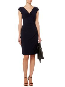 Lauren Ralph Lauren Adara Cap Sleeve Dress