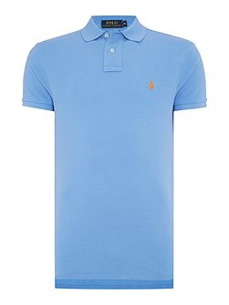 Custom-Fit Short-Sleeve Polo Shirt