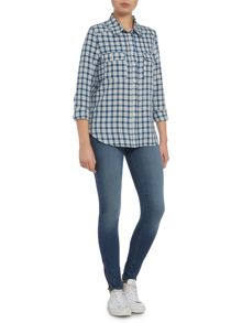 Trudy checked shirt
