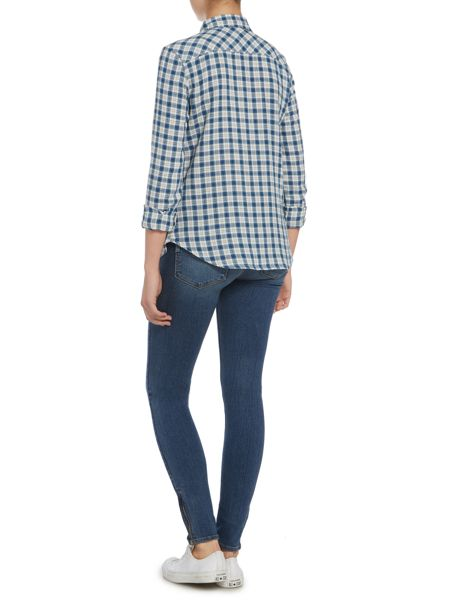 Paige Trudy checked shirt