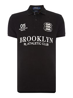Custom-Fit Brooklyn-Logo Polo Shirt