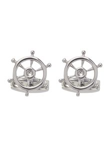 Simon Carter Ships wheel cufflink