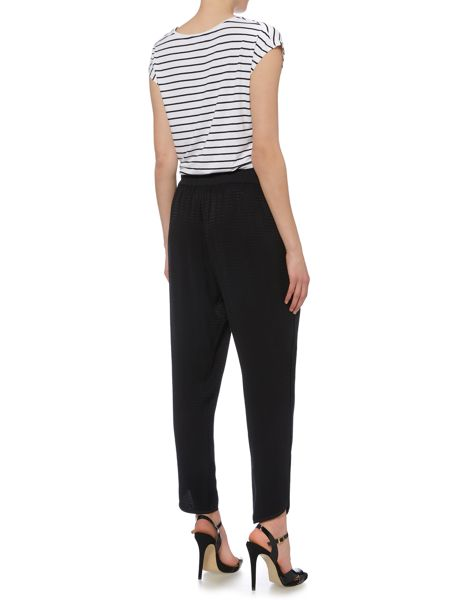 Biba Textured luxe slouch trousers