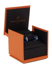 Simon Carter Glass globe cufflink