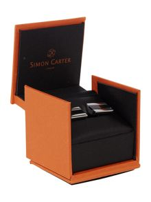 Simon Carter Half barrel cufflink