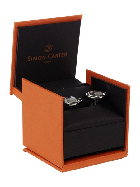 Simon Carter Lemon crystal cufflink