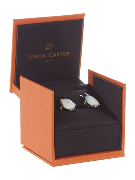 Simon Carter Darwin penguin cufflinks