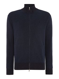 Pima cotton zip through