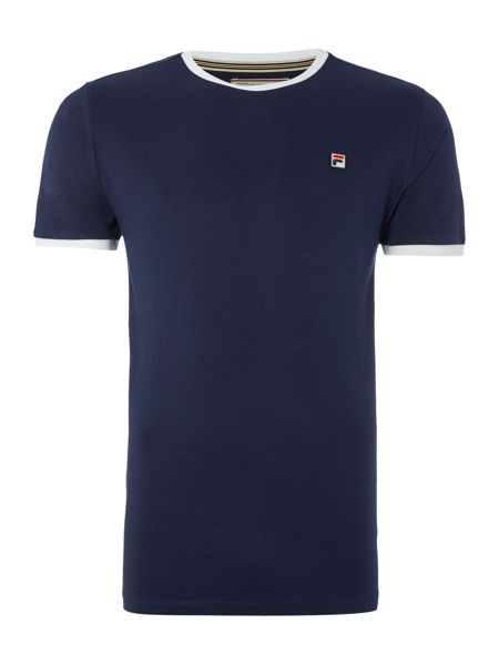 Fila Regular fit Marconi logo crew neck t shirt