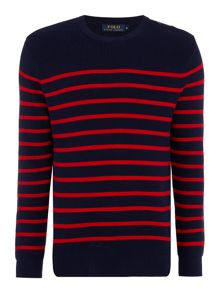 Polo Ralph Lauren Striped Crew-Neck Jumper