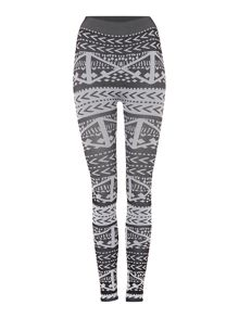 Label Lab Kisaiya Mono jacquard leggings