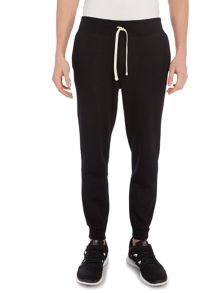 Rib cuffed sweat pant