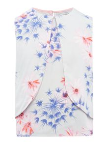 French Connection Girls Floral Printed Sleeveless Top