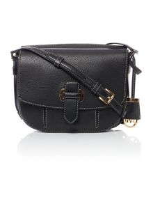 Michael Kors Romey black cross body bag