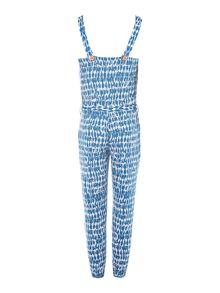 French Connection Girls Printed Sleeveless Jumpsuit