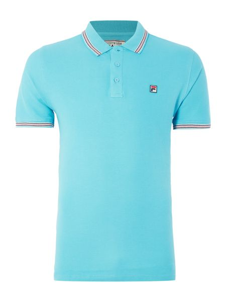Fila Matcho regular fit short sleeve tipped logo polo