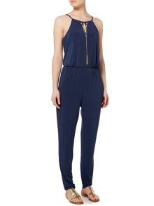 Pied a Terre Chain detail jersey jumpsuit