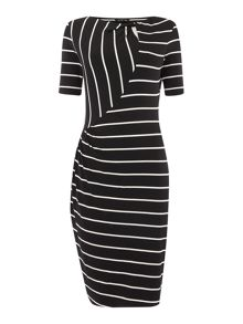 Therapy Stripe Jersey Dress