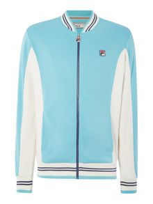 Fila Settanta regular fit baseball collar track top