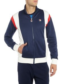 Fila Fusta regular fit panelled funnel zip through