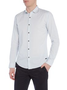 Only & Sons Stripe Long Sleeve Button Through Shirt