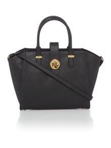 Lauren Ralph Lauren Charleston medium black tote bag