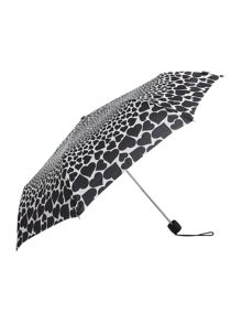 Minilite falling hearts umbrella