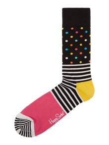 Happy Socks Stripe and dot sock