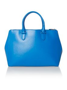 Lauren Ralph Lauren Newbury large blue tote bag