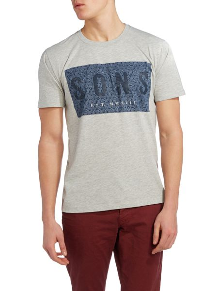 Only & Sons Logo Crew Neck Short Sleeve T-shirt
