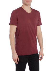 Only & Sons Dip Dye V-Neck T-shirt