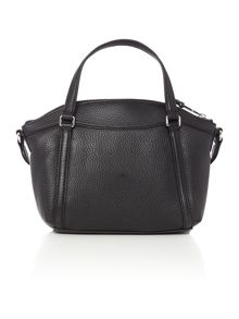 Lauren Ralph Lauren Grafton small black crossbody tote bag