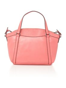 Lauren Ralph Lauren Grafton small pink crossbody tote bag
