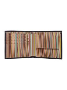 Paul Smith London Coin pocket inter multistripe wallet