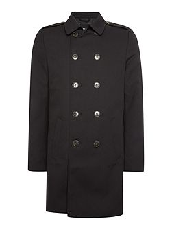 Button Through Trench Jacket