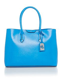 Tate blue city tote bag