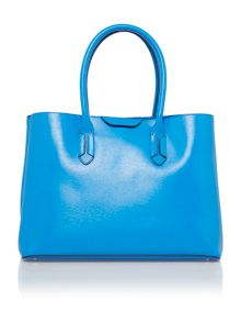 Lauren Ralph Lauren Tate blue city tote bag