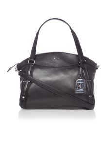 Lauren Ralph Lauren Grafton medium black shoulder bag