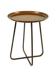 Living by Christiane Lemieux Living accessories copper side table