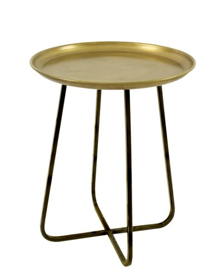 Living by Christiane Lemieux Living accessories gold side table